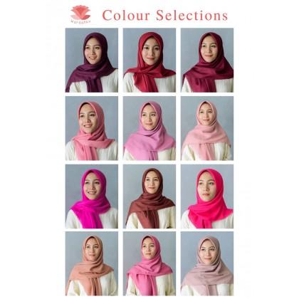 Hijab Bawal Diamond Neda (Rose Series)