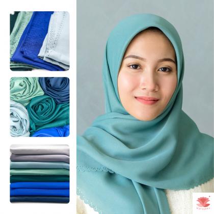 Hijab Bawal Diamond Neda (Ocean Series)